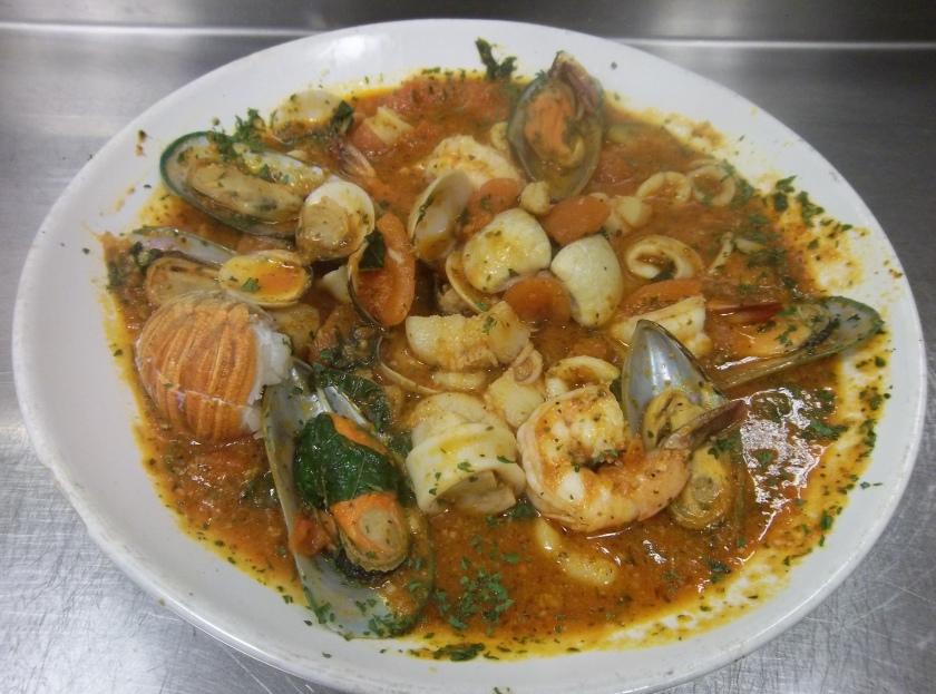 Buon Gusto Italian Cuisine & Deli's Signature Dish: Cioppino