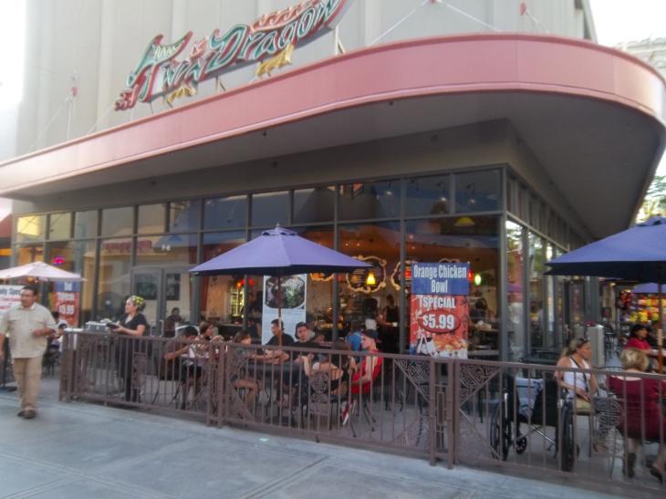 Twin Dragon Chinese Restaurant Exterior Shot CARestaurantShowCase.com