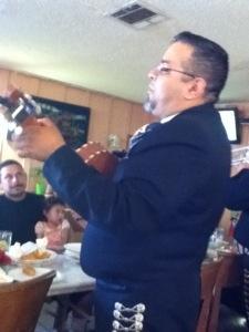 Mariachi Estrallas De Americas will serenade you on Sundays