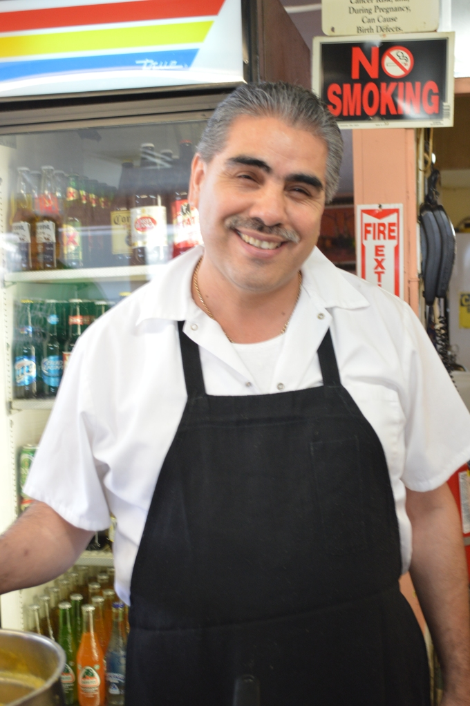 Juan Garcia loves to cook for you!