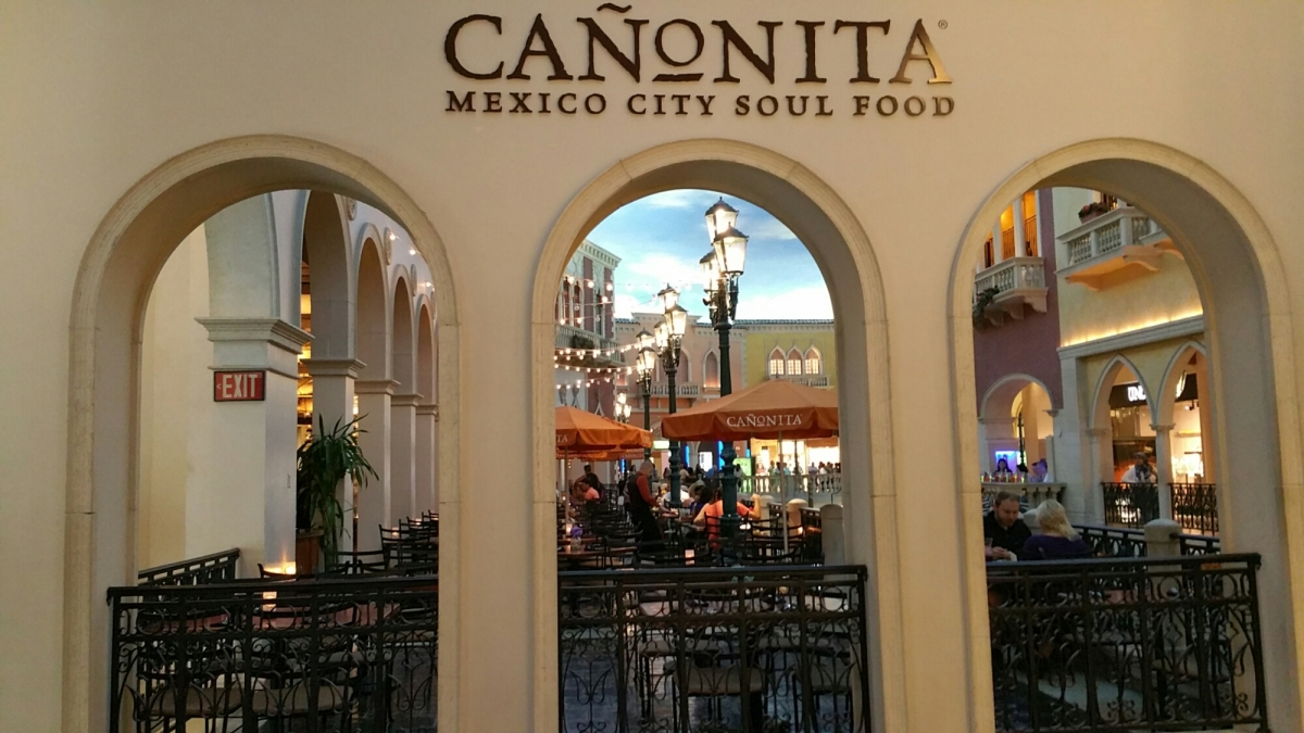 The Canonita- Mexico City Soul Food at the Venetian-Feature Story Coming Soon!